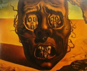 Salvador Dali - The Face of War