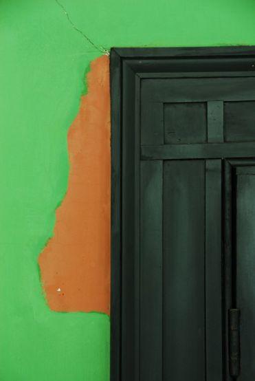 Closet Door Before Restoration