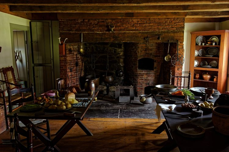 Kitchen at George Washington's Headquarters