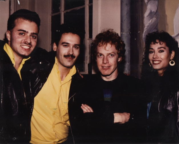 Danny Elman of Oingo Boingo with Xiomaro